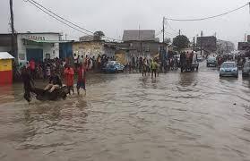 sinistrées par des inondations