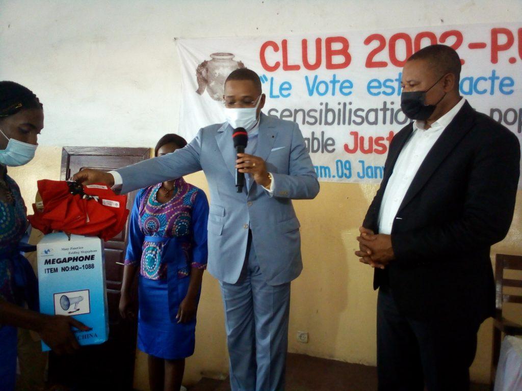 ELECTION PRESIDENTIELLE : CLUB 2002 NE LAISSE PERSONNE POUR COMPTE