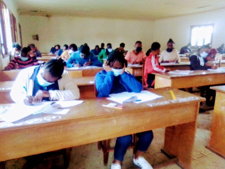 Kinkala : 8 absents au Baccalauréat technique 2021