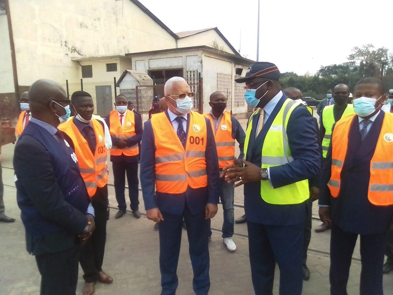 Port autonome de Brazzaville : Thystère Tchicaya satisfait de l'état d'avancement des travaux