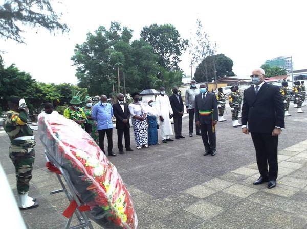 Thystère Tchicaya a rendu hommage aux victimes de l'UTA