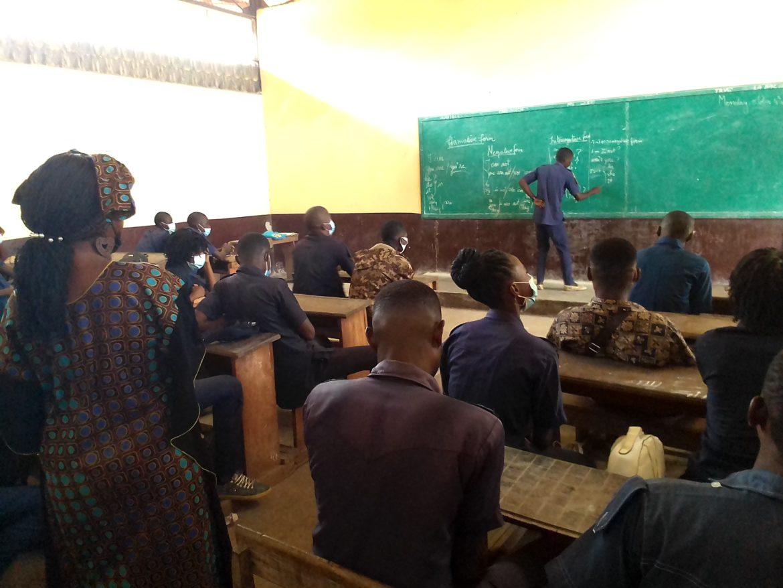 Le ministre Maguessa-Ebomé exhorte les élèves à prendre leur destin en main