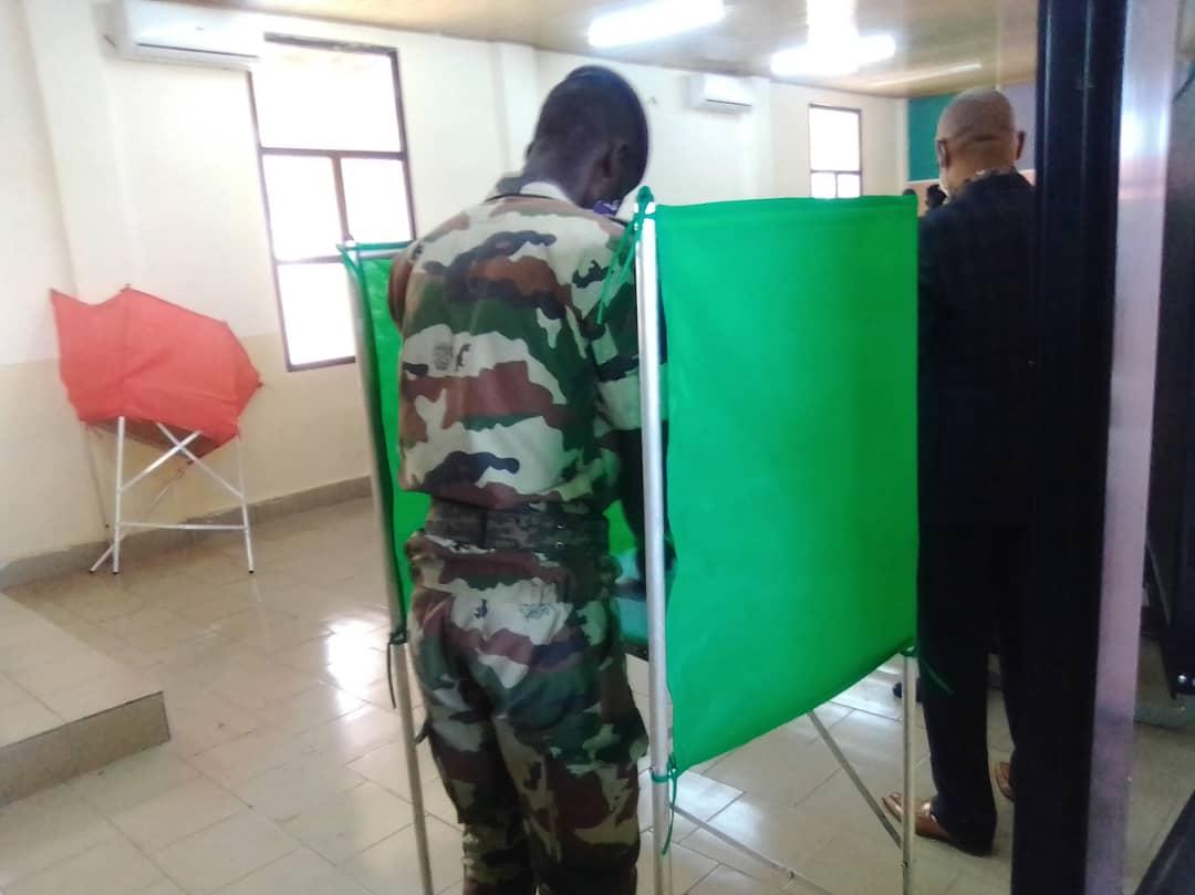 PRESIDENTIELLE AU CONGO : LA FORCE PUBLIQUE VOTE PAR ANTICIPATION