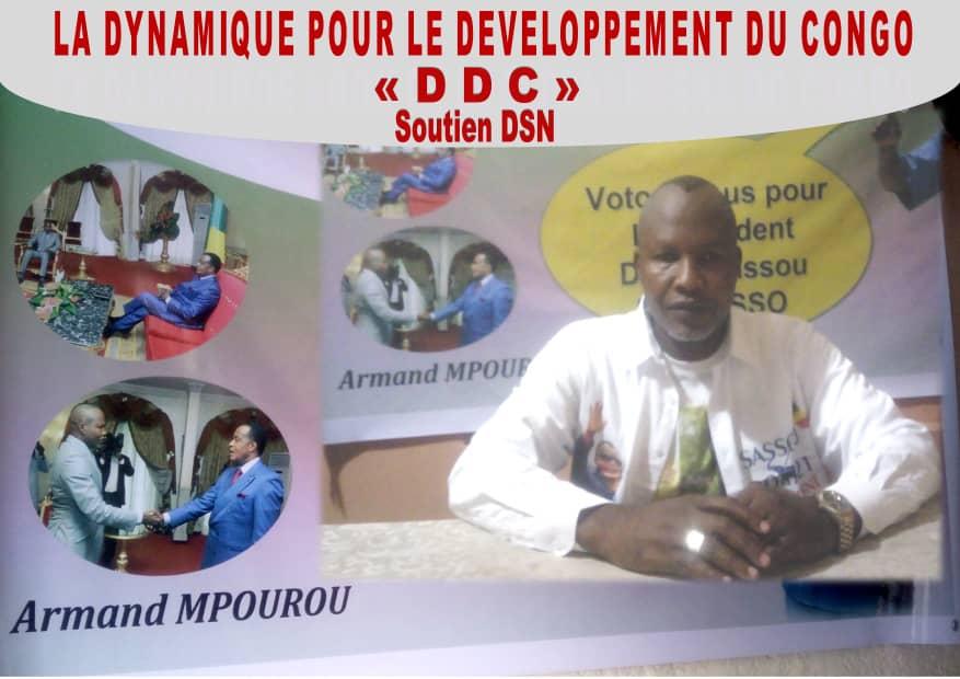 LA DYNAMIQUE POUR LE DEVELOPPEMENT DU CONGO, CONFIRME SON SOUTIEN A SASSOU