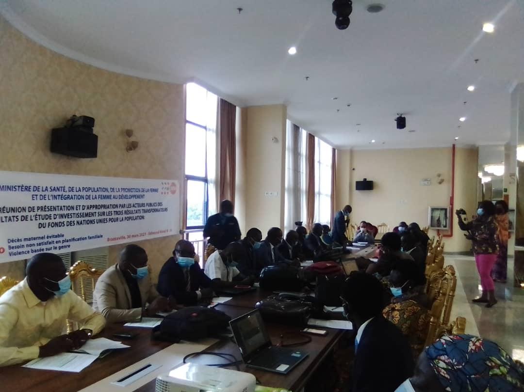 LE CONGO VERS LA REALISATION DES 3 RESULTATS TRANSFORMATEURS