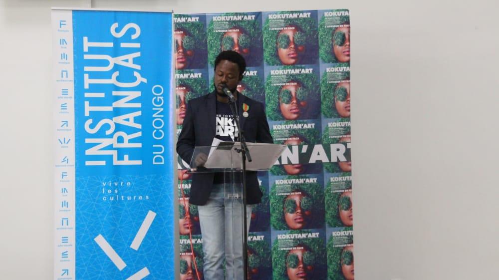 KOKUTAN'ART PREND PLACE A L'INSTITUT FRANÇAIS DU CONGO