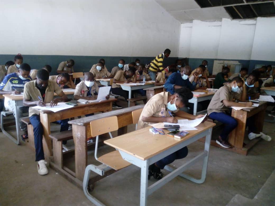 Au Congo, 110.054 élèves de troisième débutent le BEPC