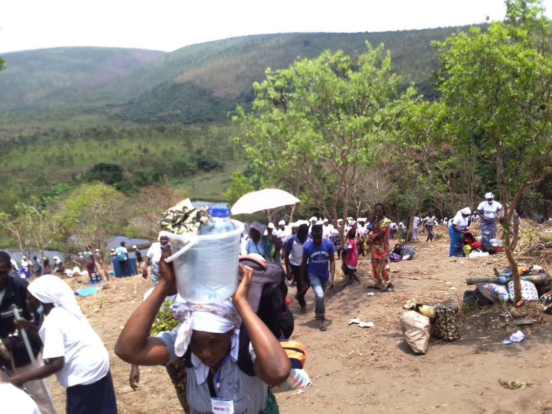 Quelques images de la retraite spirituelle de Nkoue
